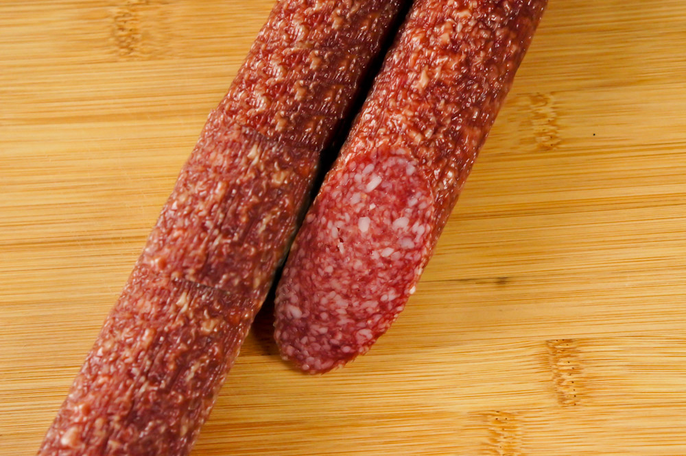 Коньячная колбаса сырокопченая